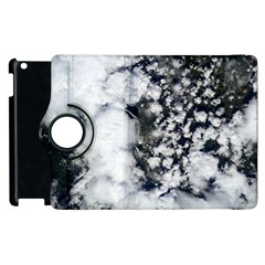 Earth Right Now Apple Ipad 2 Flip 360 Case by Celenk
