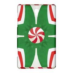 Candy Cane Kaleidoscope Samsung Galaxy Tab S (8 4 ) Hardshell Case  by Celenk