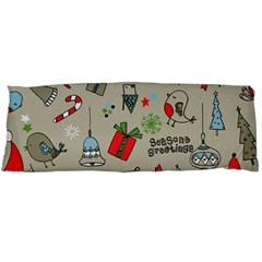 Beautiful Design Christmas Seamless Pattern Body Pillow Case (dakimakura) by Celenk