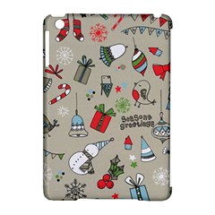 Beautiful Design Christmas Seamless Pattern Apple Ipad Mini Hardshell Case (compatible With Smart Cover) by Celenk