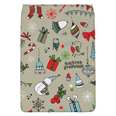 Beautiful Design Christmas Seamless Pattern Flap Covers (s)  by Celenk