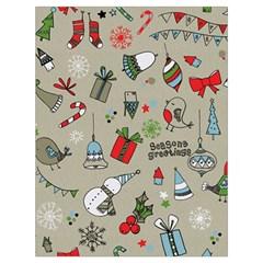 Beautiful Design Christmas Seamless Pattern Drawstring Bag (large) by Celenk