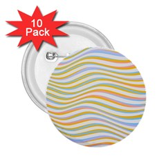 Art Abstract Colorful Colors 2 25  Buttons (10 Pack)  by Celenk
