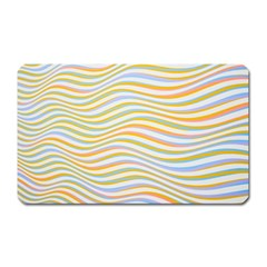 Art Abstract Colorful Colors Magnet (rectangular) by Celenk