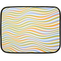 Art Abstract Colorful Colors Double Sided Fleece Blanket (mini)  by Celenk