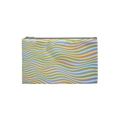Art Abstract Colorful Colors Cosmetic Bag (small)  by Celenk
