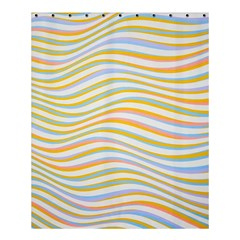 Art Abstract Colorful Colors Shower Curtain 60  X 72  (medium)  by Celenk