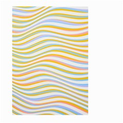 Art Abstract Colorful Colors Large Garden Flag (two Sides) by Celenk