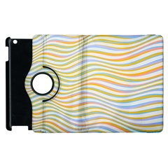 Art Abstract Colorful Colors Apple Ipad 3/4 Flip 360 Case by Celenk