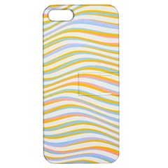 Art Abstract Colorful Colors Apple Iphone 5 Hardshell Case With Stand by Celenk