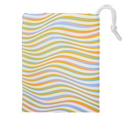 Art Abstract Colorful Colors Drawstring Pouches (xxl) by Celenk