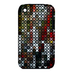 Christmas Cross Stitch Background Iphone 3s/3gs by Celenk