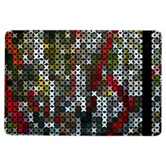 Christmas Cross Stitch Background Ipad Air Flip by Celenk