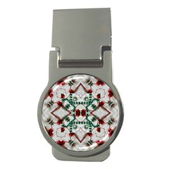 Christmas Paper Money Clips (round)  by Celenk