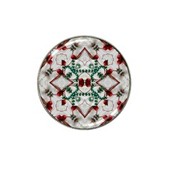 Christmas Paper Hat Clip Ball Marker (10 Pack) by Celenk
