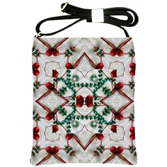 Christmas Paper Shoulder Sling Bags by Celenk