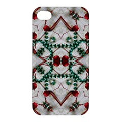 Christmas Paper Apple Iphone 4/4s Hardshell Case by Celenk
