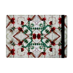 Christmas Paper Apple Ipad Mini Flip Case by Celenk
