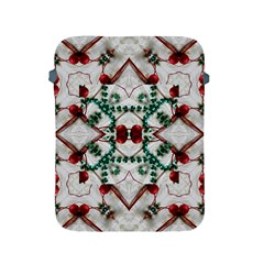 Christmas Paper Apple Ipad 2/3/4 Protective Soft Cases by Celenk
