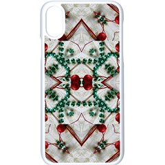 Christmas Paper Apple Iphone X Seamless Case (white)