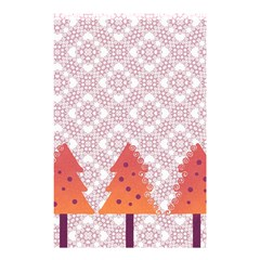 Christmas Card Elegant Shower Curtain 48  X 72  (small)  by Celenk