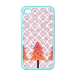 Christmas Card Elegant Apple Iphone 4 Case (color) by Celenk