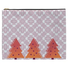 Christmas Card Elegant Cosmetic Bag (xxxl)  by Celenk