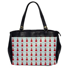 At On Christmas Present Background Office Handbags by Celenk