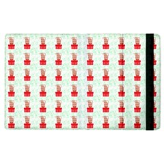 At On Christmas Present Background Apple Ipad 3/4 Flip Case by Celenk
