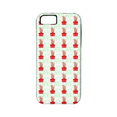 At On Christmas Present Background Apple Iphone 5 Classic Hardshell Case (pc+silicone) by Celenk