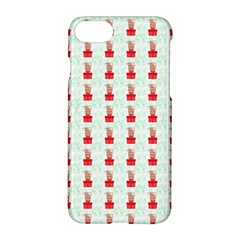 At On Christmas Present Background Apple Iphone 8 Hardshell Case