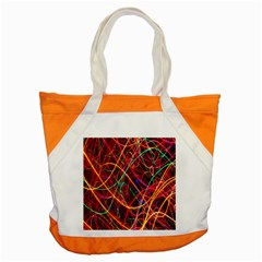 Wave Behaviors Accent Tote Bag by Celenk