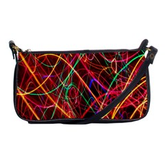 Wave Behaviors Shoulder Clutch Bags by Celenk