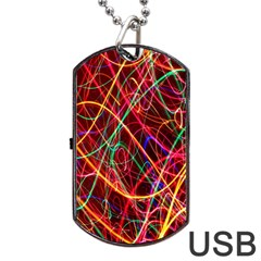 Wave Behaviors Dog Tag Usb Flash (two Sides) by Celenk