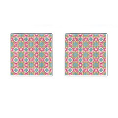 Christmas Wallpaper Cufflinks (square) by Celenk