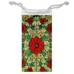 Calsidyrose Groovy Christmas Jewelry Bag by Celenk