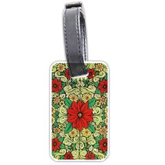 Calsidyrose Groovy Christmas Luggage Tags (one Side)  by Celenk