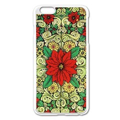 Calsidyrose Groovy Christmas Apple Iphone 6 Plus/6s Plus Enamel White Case by Celenk