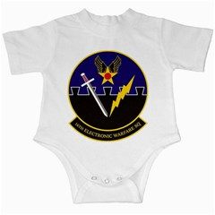 16th Electronic Warfare Squadron Infant Creepers by allthingseveryday
