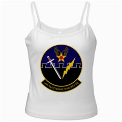 16th Electronic Warfare Squadron White Spaghetti Tank by allthingseveryday