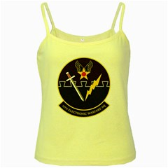 16th Electronic Warfare Squadron Yellow Spaghetti Tank by allthingseveryday