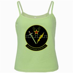 16th Electronic Warfare Squadron Green Spaghetti Tank by allthingseveryday