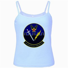 16th Electronic Warfare Squadron Baby Blue Spaghetti Tank by allthingseveryday