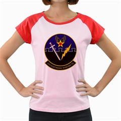 16th Electronic Warfare Squadron Women s Cap Sleeve T Shirt (colored) by allthingseveryday