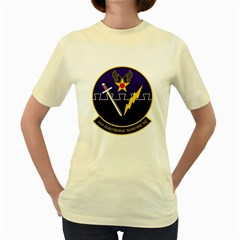16th Electronic Warfare Squadron Women s T Shirt (yellow) by allthingseveryday