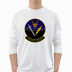 16th Electronic Warfare Squadron White Long Sleeve T Shirts by allthingseveryday