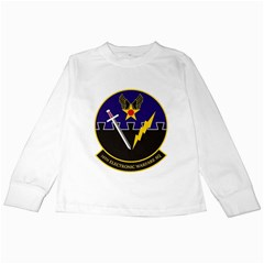16th Electronic Warfare Squadron Kids Long Sleeve T Shirt by allthingseveryday