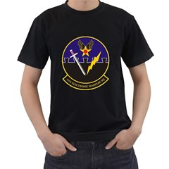 16th Electronic Warfare Squadron Men s T Shirt (black) by allthingseveryday