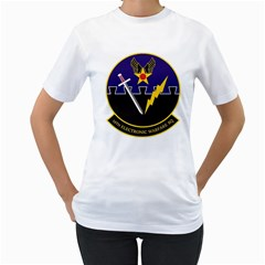 16th Electronic Warfare Squadron Women s T Shirt (white)  by allthingseveryday