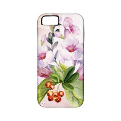 Wonderful Flowers, Soft Colors, Watercolor Apple Iphone 5 Classic Hardshell Case (pc+silicone) by FantasyWorld7
